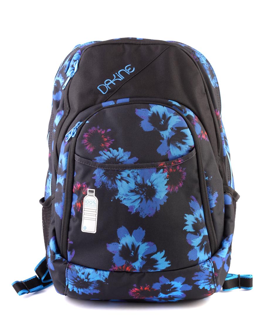 Рюкзак женский dakine eve pack 28l 15 blue flowers nologo рюкзак
